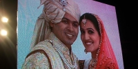 wedding reception  use 10 mm LED Screen
