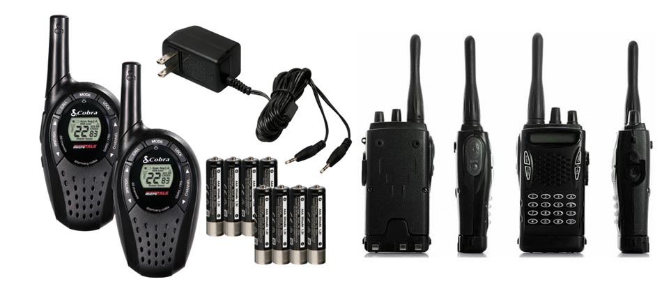 Walkie Talkie rental india